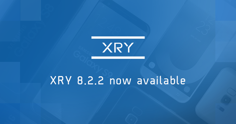 New Xry 822 Now Available Msab
